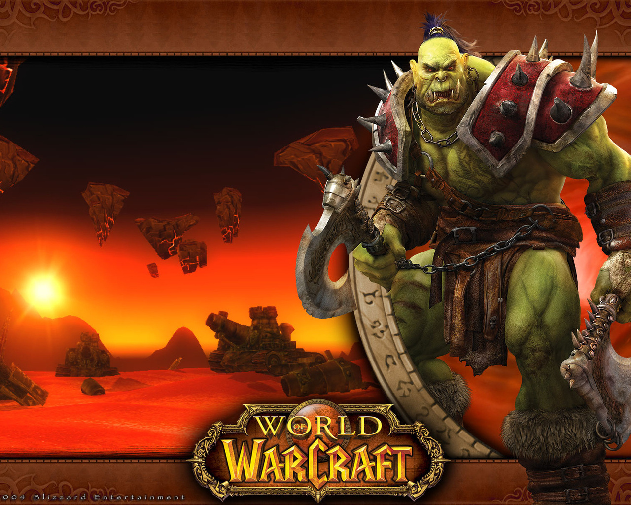 World of Warcraft orcs exploited pic